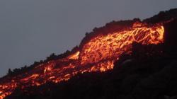 Pacaya - cascada de lava