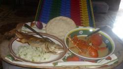 Isla de Zacatillo - Almuerzo en la hamaca