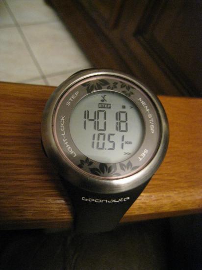 14 018 pas et 10,51 km