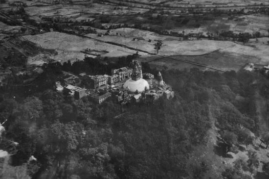 Swayambunath en 1940