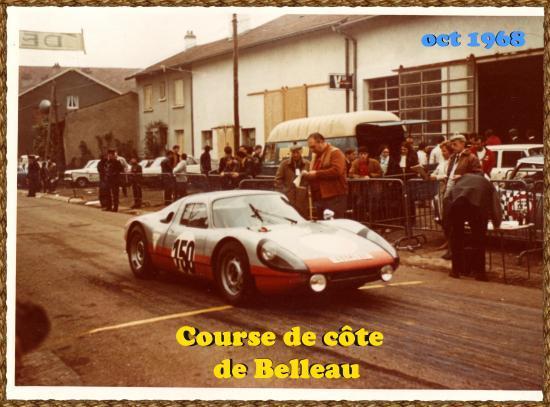 Porsche 904 GTS course de cote de Belleau