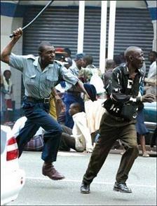 A violência policial em Angola