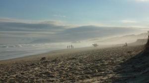 Sawtel, ambiance surfer et sable fin