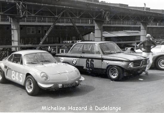 Micheline Hazrad BMW 2002 TI
