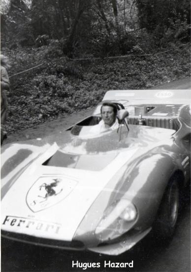 Hugues Hazard course de cote de Dudelange 1970