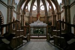 Intérieur de la chapelle du Kempferhof