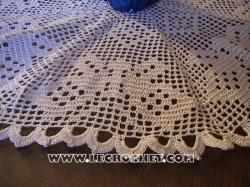 papillon crochet filet