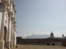 Granada - Vista sobre el volcan Mombacho