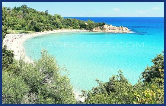 découvrez la Corse et les plages comme la plage de Canella