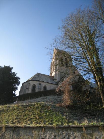 Eglise Saint-Denis à Berville (95)