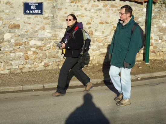 Annick, Bernard, et l'ombre du photographe