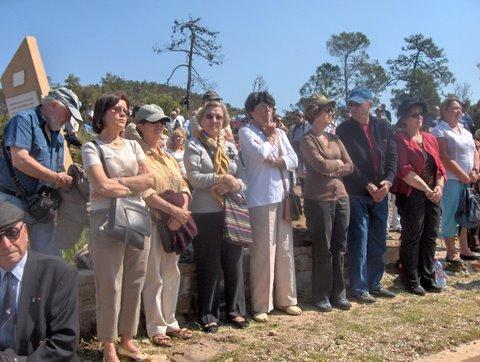 2009.Déléguation de l'amicale au sanctuaire