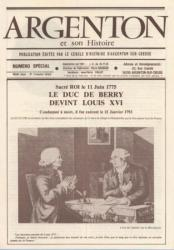 Bulletin Duc de Berry