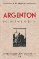 Argenton documents inédits