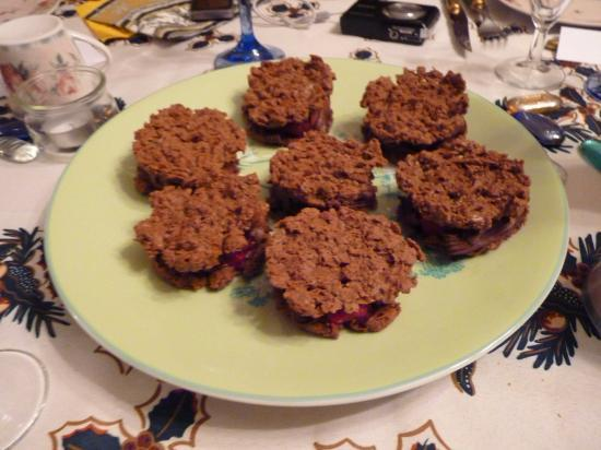 croustillant chocolat framboise
