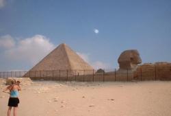 Juil. 2005 Pyramide de Gizeh, Egypte