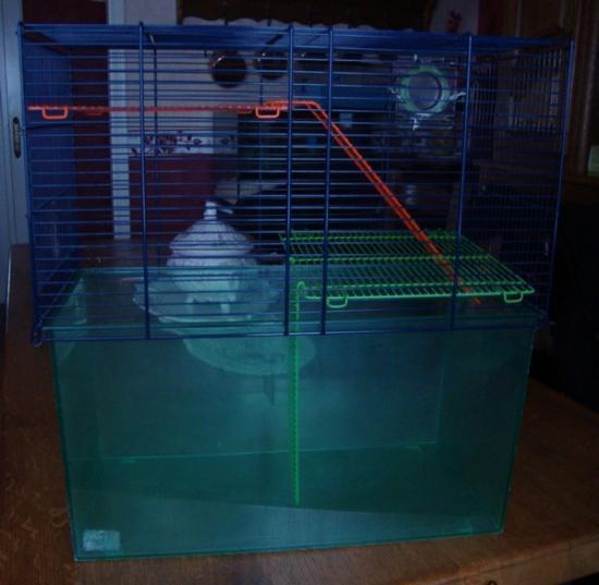 Cages en plexi pour Hamsters ou Souris + Cage Aquarium + Accessoires Cage-aqua