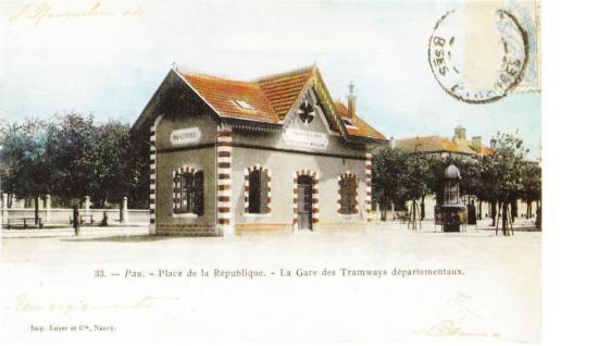 Pau Centre - gare tramway