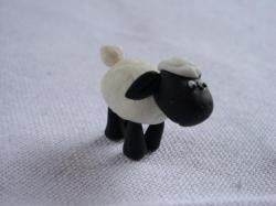 mouton en porcelaine froide