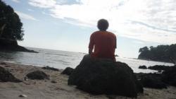 Manuel Antonio - Pensando mirando la playa