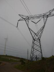 Tilaran - Tejona eolicos en la niebla