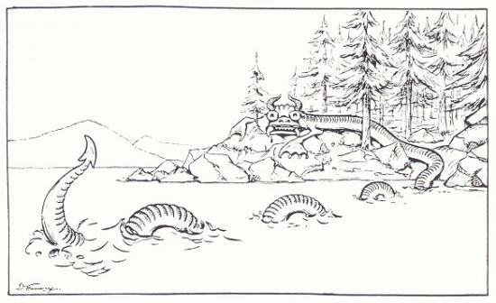 Cryptozoologie cryptozoology lac memphrémagog créature canada créature cryptide lacustre memphré Jacques Boisvert