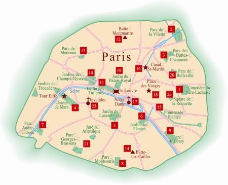 Paris refuge pour une esp ce en danger for Les jardins de la ville paris