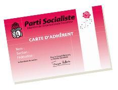 Carte d'adhérent du PS