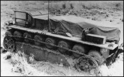 7 - XM 759 en essais en 1967. Airoll locomotion chenilles