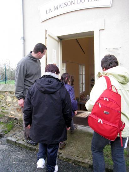 Entrée de la maison du pain à Commeny