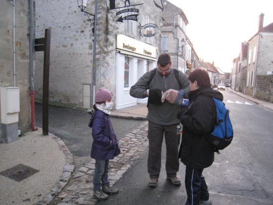 Grande rue à Commeny