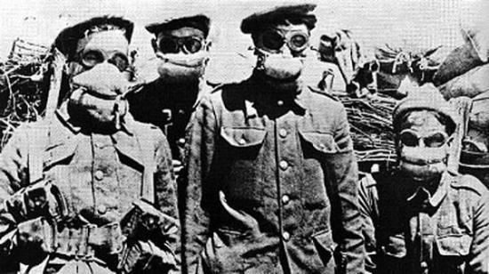22 avril 1915 , Ypres
