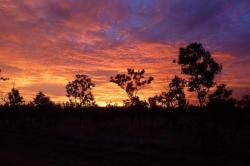 Coucher de soleil reparateur sur Kakadu