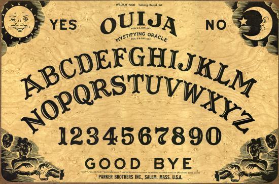 Planche Ouija Virtuelle