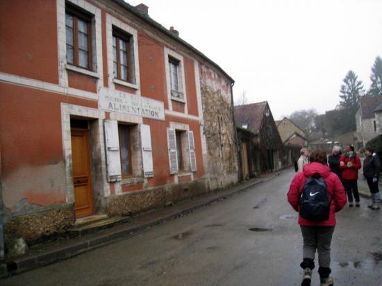 Départ de rando à Delincourt