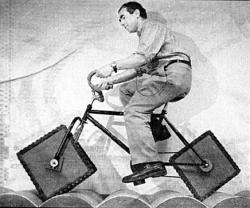 Bicyclette à roues carrées
