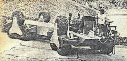 Le chassis du Landmaster est en deux parties