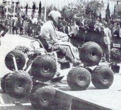 Le 'petit Terrastar' vu au Salon de l'Automobile de Barcelone en 1972