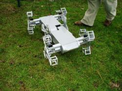 Robot Whegs de 2ème génération