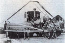 Tracteur de Best Manufacturing Co en 1900