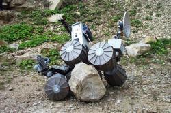 Robot Marsokhod 6x6 connu sous le nom de Lama