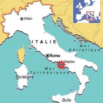 Naples carte italie | Arts et Voyages