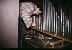 La restauration de l'orgue en 1991