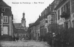 Vue de Puttelange-aux-Lacs au XIX° s.