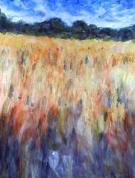 peinture champ de blé