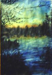 peinture de lac