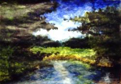 Peinture de rivière