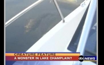 Cryptozoologie cryptozoology lac Champlain créature USA Canada Champ Champy créature cryptide lacustre Joseph Zarzynski