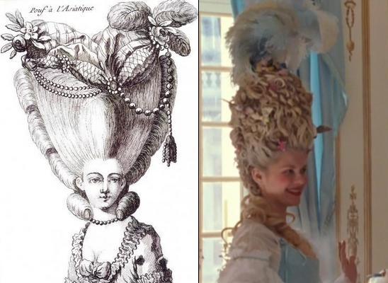 Marie,Antoinette, réputée pour son élégance, adopte à lépoque les vêtements et coiffures les plus extravagants quil soit. Sofia Coppola, tout en donnant