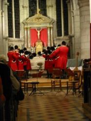 soirée musicale en l'église de Charly-sur-Marne, organisée par les Amis de l'Orgue du Pays de Charly-sur-Marne. (Aisne)